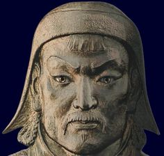 Genghis Khan. Founding father of Mongolia.