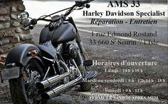 HARLEY DAVIDSON A VENDRE CHEZ AMS St seurin/l'isle  33660