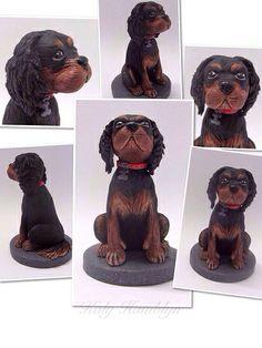 Clay Sculpture Dog