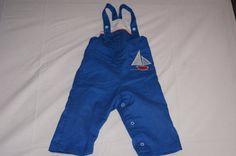 $8 Vintage 1980's Health-Tex Baby Overalls in by TheMercerStreetHouse