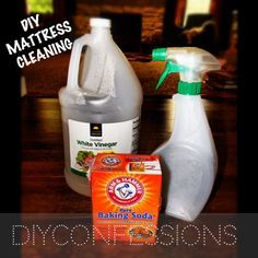 Mattress cleaner  I am so doing this!  nothing like a fresh mattress.