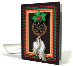 Christmas / Native American Dream Catcher card (676493) by Gail Pepin