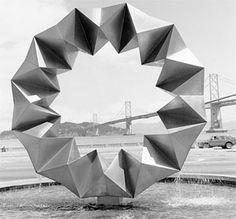 aurora fountain, Bayside Plaza, San Francisco by Ruth Asawa Clay Design, 3d Design, Ruth Asawa, Sculpture Art, Sculptures, Modern Art, Contemporary Art, Cool Shapes, Josef Albers