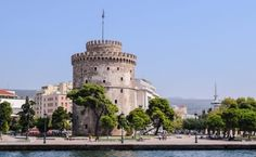 Thessaloniki is the second-largest Greek city and it is also called Salonica. The city offers a combination of rich multicultural history, cosmopolitan culture and a laid-back vibe which is quite uncommon in a densely populated area. Most Beautiful Greek Island, Beautiful Islands, Best Places To Travel, Cool Places To Visit, Meteora Klöster, Santorini, Zakynthos, Corfu, Skiathos