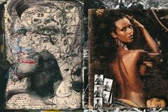Iman by Peter Beard