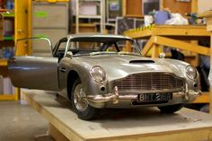 James Bond Skyfall crew turned to 3D printers for Aston Martin DB5 stunt double