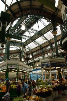 Leeds Market - Has a whole load of amazing architecture and the odd hidden gem of a stall :)