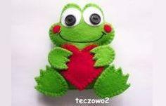 żaba z filcu - Szukaj w Google