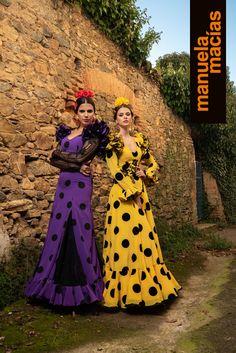 Colección 2019 Manuela Macías Moda Flamenca Flamenco Costume, Flamenco Skirt, Hippie Style, Belly Dance, Special Events, Snow White, Costumes, Disney Princess, Retro