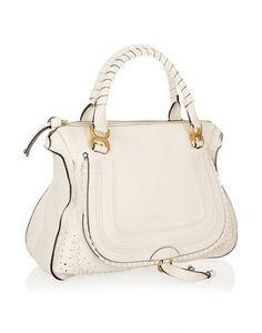 """Chloe """"Marcie Large leather tote"""""""