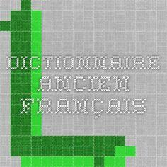 Dictionnaire ancien français