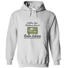 Do you prefer luxury glamping with 5 billion stars, over a 5-star resort?  Then spread your enthusiasm for glamping with a Bella Solviva hoodie or T-Shirt and make your statement today!