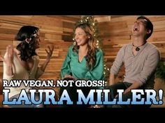 ▶ Fresh Veggie Salad with Laura's Dad   Raw. Vegan. Not Gross. - YouTube