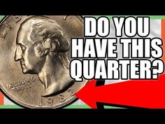 These are 1983 quarters worth money and rare and valuable quarters to look for in your pocket change. We look at valuable 1983 error quarters value. Valuable Pennies, Valuable Coins, Rare Pennies, Old Coins Worth Money, Old Money, Old Coins Value, Rare Stamps, American Coins, Error Coins