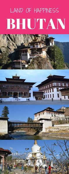 Bhutan travel to the Land of Happiness. The mighty Himalayan kingdom of Bhutan presents awe-inspiring nature, a strong sense of spirituality and endless smiling faces of friendly Bhutanese people.