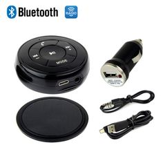 Car #wireless bluetooth music audio receiver adapter handsfree #speaker fm #radio,  View more on the LINK: http://www.zeppy.io/product/gb/2/322343418461/