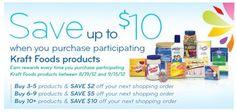 Kraft Foods Catalina :: 8/19/12 – 9/15/12
