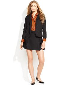 QMack Skirt, Pleated A-Line