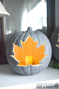 DIY craft pumpkins