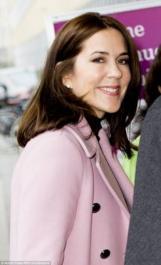 Taking a stand: Princess Mary attended the World Conference of Women's Shelters that aimed to promote women's economic independence and prevent violence against women
