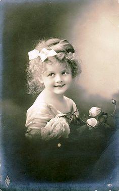 #Vintage #Postcard  ~ Sweet Face by chicks57, via Flickr