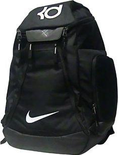 Amazon.com   Nike KD Max Air Elite Basketball Backpack Black White   Sports    Outdoors c0d830c5c8545