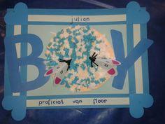 Knutselen voor de baby... Little Sisters, Baby Gifts, Diy And Crafts, Presents, Homemade, Activities, Boys, Paper Board, Gifts