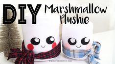 CUTE Marshmallow Plushie DIY   Ann Le Style