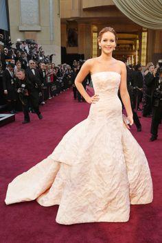 Jennifer Lawrence in Dior Haute