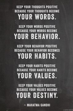 behaviours and values