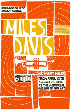 Saul Bass style poster for Miles Davis Miles Davis, Festival Posters, Concert Posters, Music Posters, Film Posters, Jazz Festival, Saul Bass Posters, Jazz Poster, Jazz Art