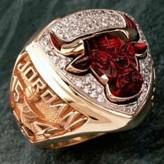 Chicago Bulls NBA Championship Ring - 1993