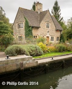Along the Canal: Iffley, England.