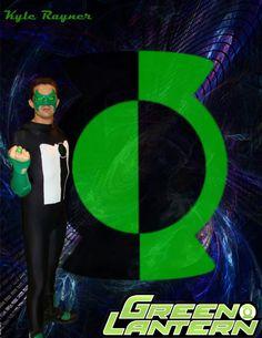 KYLE RAYNER Kyle Rayner, Lanterns, Green, Lamps, Lantern