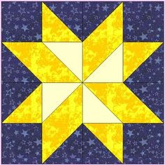 This picture (nancys star block tutorial quilt blocks pattern blocks Star Block Quilt Pattern) earlier mentioned can be class Star Quilt Blocks, Star Quilts, Block Quilt, Mini Quilts, Barn Quilt Patterns, Pattern Blocks, Quilting Patterns, Star Patterns, Half Square Triangle Quilts