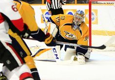 Pekka Rinne helping Predators stay afloat in Central Division race = Rumors of Pekka Rinne's impending downfall may have been exaggerated. The 34-year-old Finn is thriving in net for Nashville thus far this season, and his resurgence comes at a time of need for the Predators, who are.....