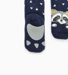 Pack of raccoon socks