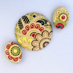 Blooming Paisley by golemstudio on Etsy