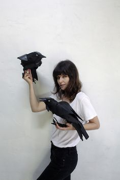 Anna-Wili Highfield is an incredibly talented Australian sculpture artist who makes life-size animal sculptures out of torn paper.