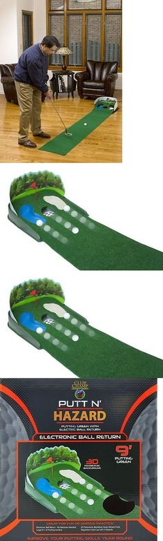 Putting Greens and Aids 36234: Home Putting Green Practice Indoor Mat Golf Training Putt Cup Hazard Ball Return -> BUY IT NOW ONLY: $50.88 on eBay!