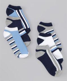 6-Pack Basic Socks by Vitamins Baby #Basics #Toddler #Socks