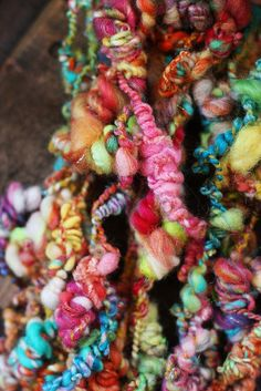 Wild, winsome, whateverness of yarn. Spinning Wool, Hand Spinning, Spinning Wheels, Textiles, Art Textile, Yarn Needle, Crochet Yarn, Wool Yarn, Fiber Art