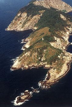 """TIL that there is an island in the coast of Brazil """"Ilha da Queimada Grande"""" that is known as Snake Island because it have according to some estimates one snake to every square meter. The island is interdict to general public. Cheap European Destinations, Rio Grande Do Norte, Places Around The World, Around The Worlds, Costa, Lighthouse Keeper, Outside World, Forests, Home"""