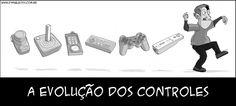 A Evolução dos Controles!  http://acessogames.com.br/