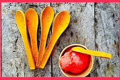Colher comestível substitui o plástico e ajuda a natureza