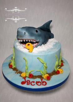 Shaaaarrrk! - Cake by AWG Hobby Cakes