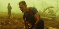 Tom Hiddleston in Kong: Skull Island