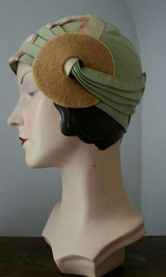 Flapper's hat, ca. 1925.