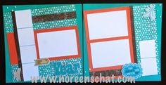 Noreen's Scrap N Chat: CTMH Chalk It Up Scrapbook Layout