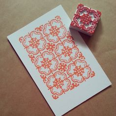 Peranakan wall tile print